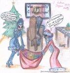Кому праздники, а кому трудовые будни..)) (автор: Lamina)