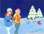 Стелла и забытые снегурочки с подарками (автор: La fata di Sophix)