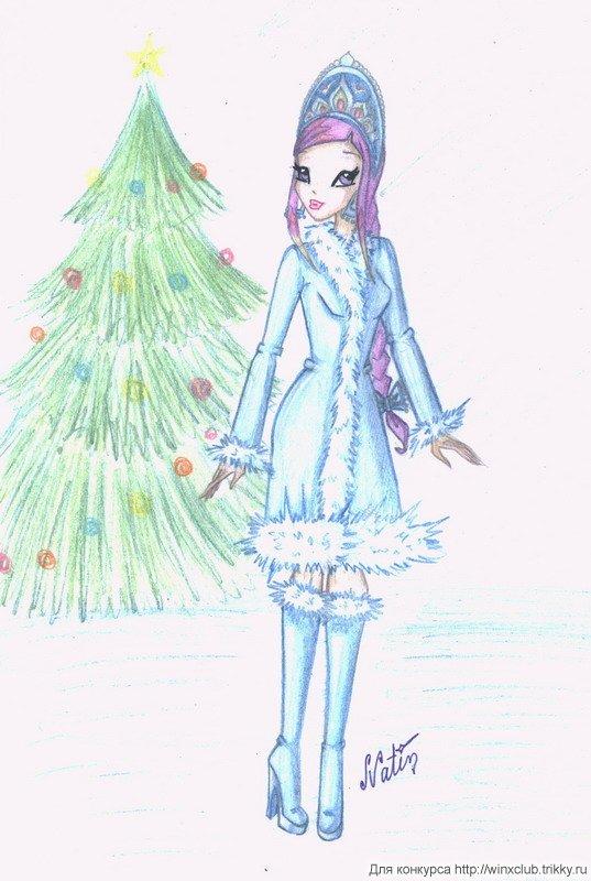 Картинки винкс снегурочек, арты поклонниц!