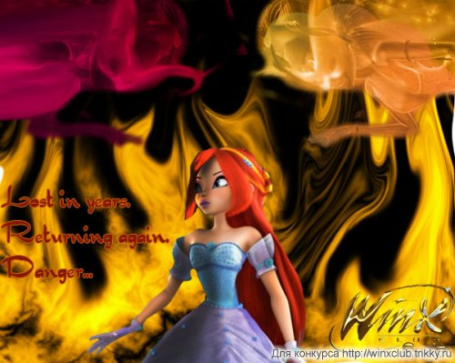 Lost in years. Returning again. Danger... (Winx club. Season 5)