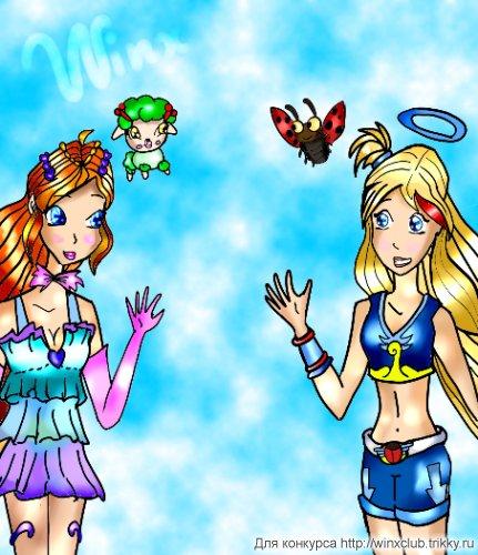 Блум и Раф(Angels Friends)
