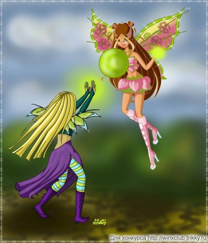 Магия природы(Флора из Winx и Корнелия из Witch)