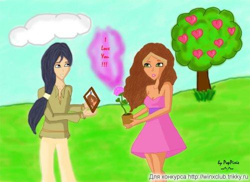 Флора и Хелия для ФантастическаяЛюбимаяОчаровательнаяРанимаяАнгел и The cold girl*