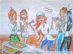 """Блум работница столовой или """"хочешь недожареную котлетку""""? (автор: La fata di SophiX)"""