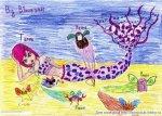Тёмная русалка Текна (автор: Bloom2011)