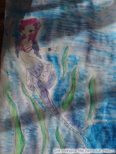 Техна-дух озера(русалка)