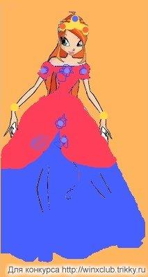 Бал для Блум цветов