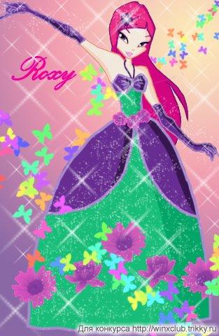 Roxy in dress