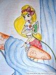 Стелла собирается гладить шторку... (автор: just a fairy...(бывшая Таша))