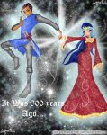 Рыцарь и принцесса.Европа 12-13вв.