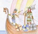 Викинги на прогулке, 12-13 век