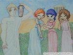 В Древней Греции...