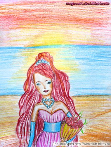 Лейла, цветы заката