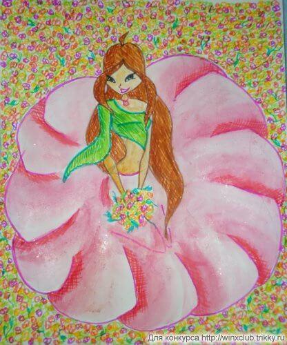 Пусть в вашей жизни будет море цветов!