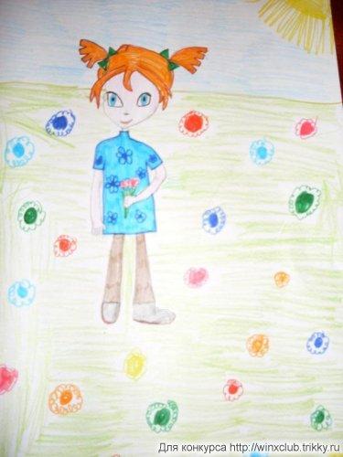 детство в цветах