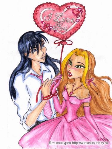 Флора и Гелия с шариком