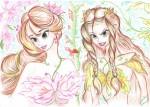 У каждого растения свой характер(Мелидия и Буйный плющ)