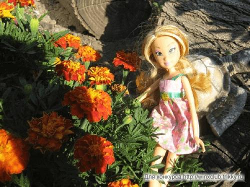 Флора в своей стихии