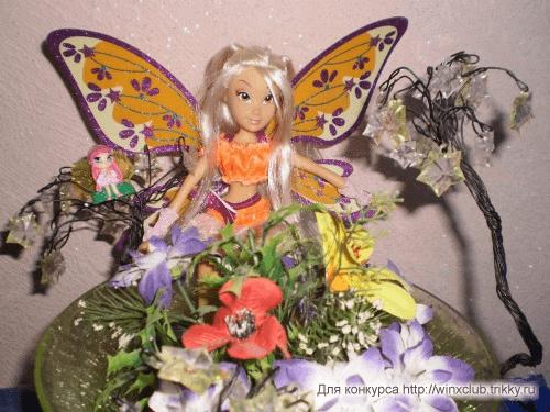 Стелла, Аморе и цветы
