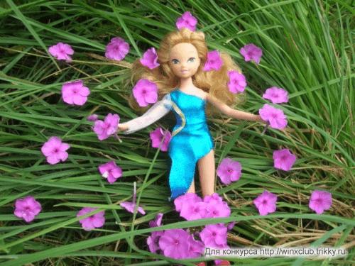 Моя любимая Флорочка в цветах