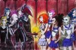 Marilyn vs  Manson или битва баскетболистов:)